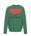 le cannibale sweatshirt green