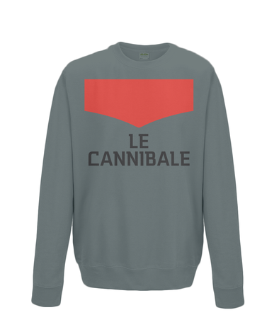 le cannibale sweatshirt charcoal