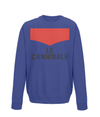 le cannibale sweatshirt navy