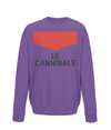 le cannibale sweatshirt purple