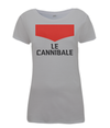 le cannibale women's cycling t-shirt grey