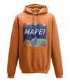 mapei kids cycling hoodie orange