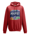 mapei kids cycling hoodie red