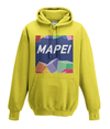 mapei kids cycling hoodie yellow