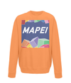 mapei kids cycling sweatshirt orange