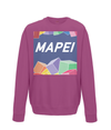 mapei kids cycling sweatshirt burgundy
