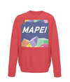 mapei kids cycling jumper red