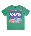 mapei kids cycling t-shirt - green