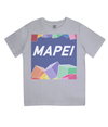 mapei kids cycling t-shirt - grey
