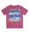 mapei kids cycling t-shirt - pink