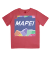 mapei kids cycling t-shirt - red