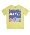 mapei kids cycling t-shirt - yellow