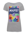 mapei women's cycling t-shirt grey