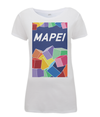 mapei women's cycling t-shirt white