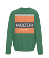 molteni kids cycling sweatshirt green