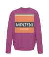 molteni kids cycling sweatshirt burgundy