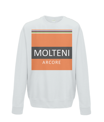 molteni kids cycling sweatshirt grey