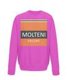 molteni kids cycling sweatshirt pink