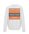 molteni kids cycling jumper white