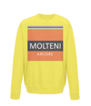 molteni kids cycling jumper yellow