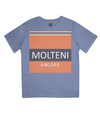molteni cycling t-shirt for kids - blue