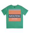 molteni cycling t-shirt for kids - green