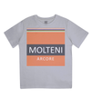 molteni cycling t-shirt for kids - grey