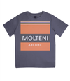 molteni cycling t-shirt for kids - navy