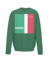 marco pantani kids sweatshirt green