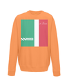 marco pantani kids sweatshirt orange