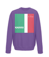 marco pantani kids sweatshirt purple