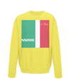marco pantani kids sweatshirt yellow