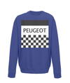 peugeot kids cycling jumper navy