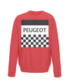 peugeot kids cycling jumper red