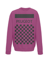 peugeot cycling sweatshirt burgundy