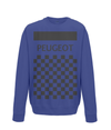 peugeot cycling sweatshirt navy