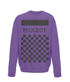 peugeot cycling sweatshirt purple