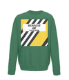 renault cycling kids jumper green