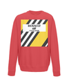 renault cycling kids jumper red