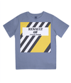 renault kids cycling t-shirt blue