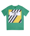renault kids cycling t-shirt green