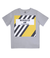 renault kids cycling t-shirt grey