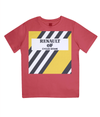 renault kids cycling t-shirt red