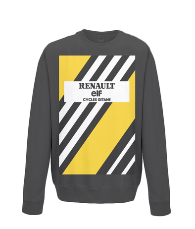 renault cycling sweatshirt black
