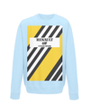 renault cycling sweatshirt light blue