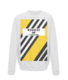 renault cycling sweatshirt white