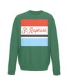 st raphael cycling kids jumper green