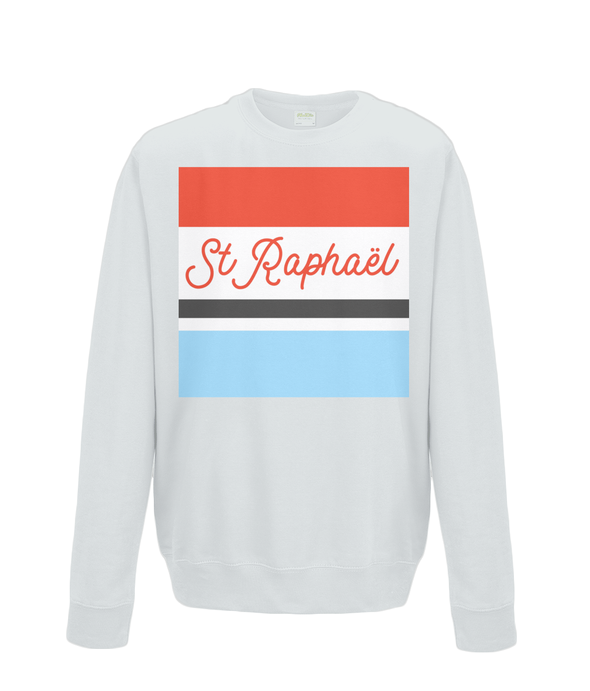 st raphael cycling kids jumper grey