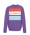 st raphael cycling kids jumper purple