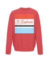 st raphael cycling kids jumper red